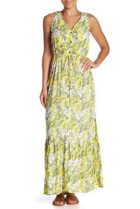 Tiare Hawaii Jackson Flounce Hem Maxi Dress