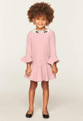 Milly Bridgette Dress With Collar