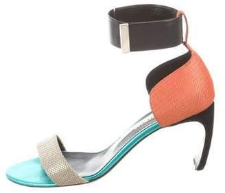 Nicholas Kirkwood Maeva Ankle-Strap Sandals