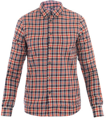 A.P.C. Button-down collar vintage shirt