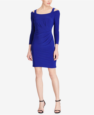 American Living Cutout-Shoulder Jersey Dress $69 thestylecure.com