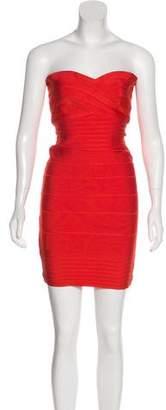 Herve Leger Denise Bandage Dress