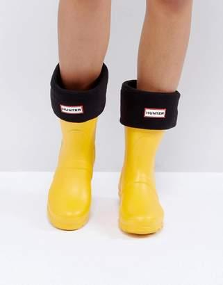 Hunter Black Short Boot Socks