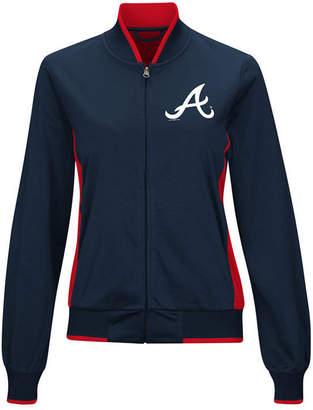 G-iii Sports Women's Atlanta Braves Triple Track Jacket