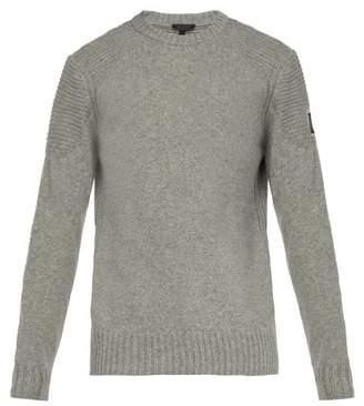 Belstaff South View Wool Blend Sweater - Mens - Grey