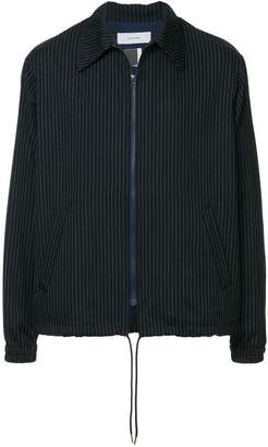 Facetasm striped lightweight jacket