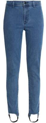 J Brand High-Rise Slim-Leg Stirrup Jeans