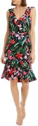 Basque Wild Tropical Flamenco Dress