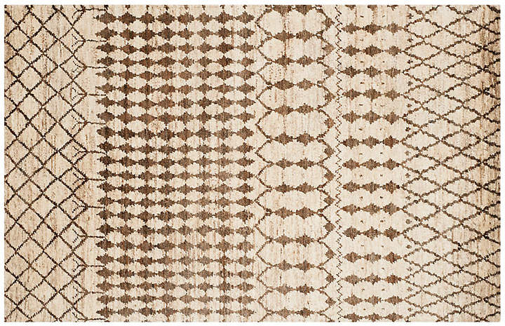 Jute Round Rug Black Triangles Styles44 100 Fashion