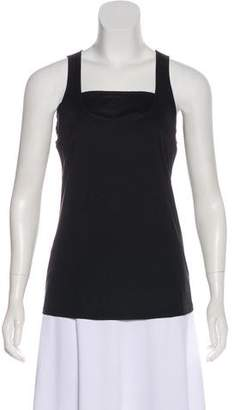 Emilio Pucci Scoop Neck Sleeveless Tank Top