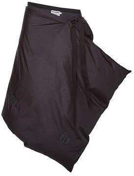 Jil Sander Miscellaneous Apron Wrap Skirt with Down Filling
