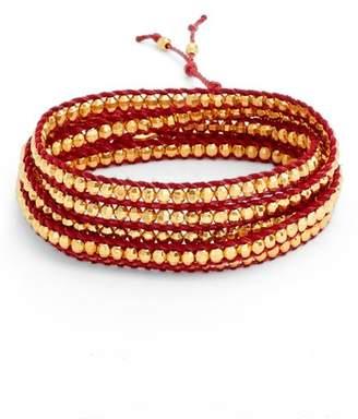 Chan Luu Vermeil Beaded Bracelet