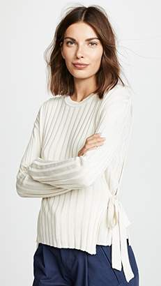 Moon River Tie Side Sweater