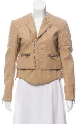 Balenciaga Quilted Zip-Up Jacket