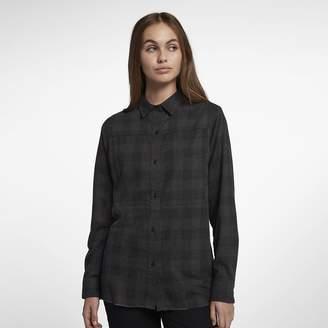 Hurley Wilson Women's Long Sleeve Flannel