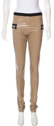 Les Chiffoniers High-Rise PVC Leggings w/ Tags