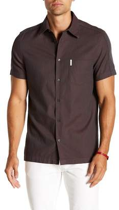Ben Sherman Dobby Short Sleeve Regular Fit Shirt