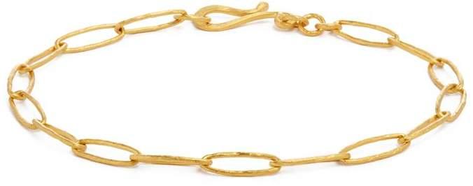 Annoushka Yellow Gold Organza Charm Bracelet