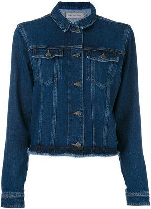 Calvin Klein Jeans classic denim jacket $110.51 thestylecure.com