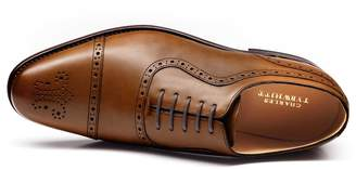 Charles Tyrwhitt Brown Goodyear Welted Oxford Brogue Shoe Size 11.5