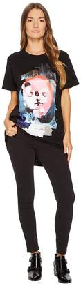 Versace Donna Jersey Stampato T-Shirt