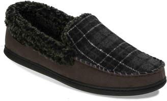 Dearfoams Whipstitch Moccasin Slipper - Men's