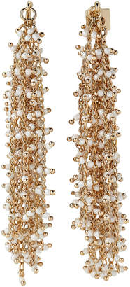 Vince Camuto Gold-Tone Beaded Waterfall Earrings