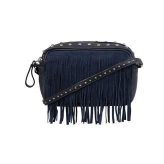 Little Remix Little RemixNavy Leather Studded Shoulder Bag