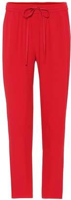 RED Valentino Crepe slim pants
