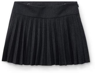Ralph Lauren Pleated Wool Skirt