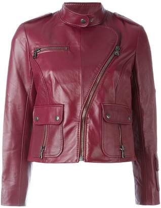 Marc Jacobs cropped biker jacket
