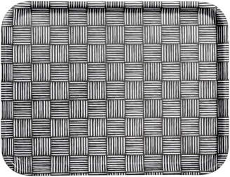 H&M Patterned tray - Black