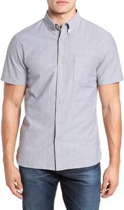 Reyn Spooner Regular Fit Solid Stretch Oxford Sport Shirt