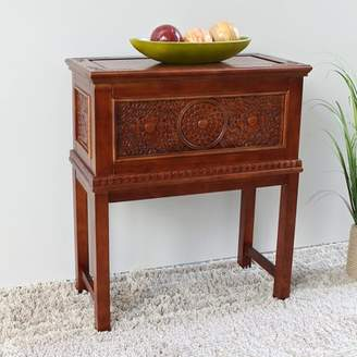 World Menagerie Palmieri Standing Wood Trunk World Menagerie