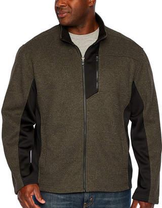 Izod Midweight Fleece Jacket - Big and Tall