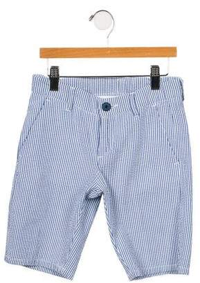 Eddie Pen Boys' 2017 Seersucker Striped Shorts