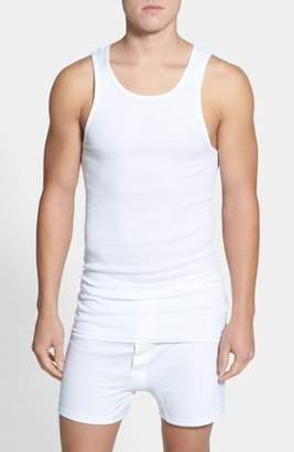 Nordstrom 4-Pack Supima(R) Cotton Athletic Tanks