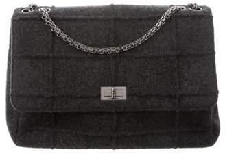 Chanel Felted Wool Jumbo Flap Bag wool Felted Wool Jumbo Flap Bag