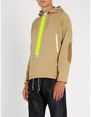 Junya Watanabe Hooded raglan-sleeve shell jacket