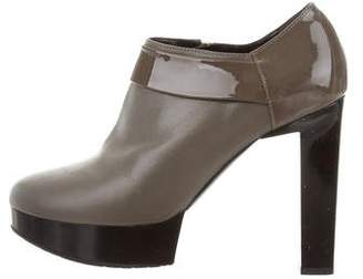 Robert Clergerie Clergerie Paris Rounded-Toe Leather Booties