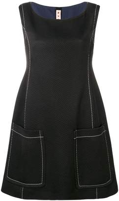 Marni contrast stitch dress