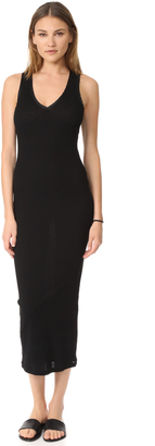 James Perse Satin Binding Tubular Dress $225 thestylecure.com