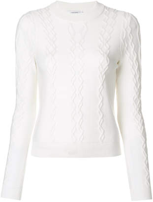 Carven cable knit jumper