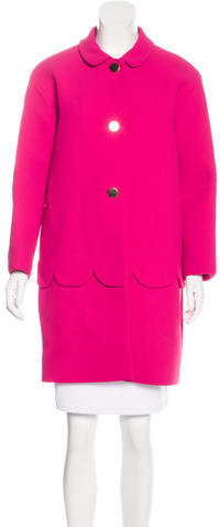 Kate SpadeKate Spade New York Long Sleeve Button-Up Coat w/ Tags