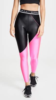Koral Activewear Pipe High Rise Limitless Plus Leggings