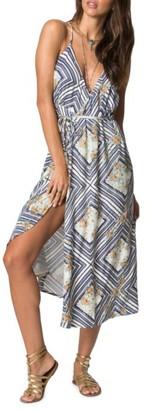 Women's O'Neill Leelee Midi Wrap Dress $54 thestylecure.com