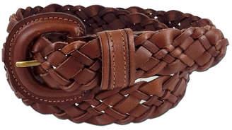 Fashion Focus Accessories Braided Buckle Belt