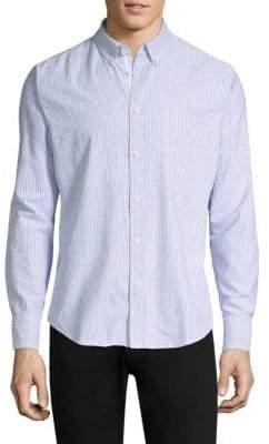 Rag & Bone Tomlin Oxford Striped Sportshirt