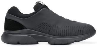 Ermenegildo Zegna perforated detail sneakers