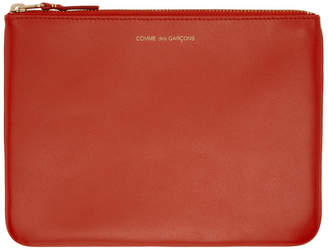 Comme des Garcons Wallets Orange Classic Zip Pouch